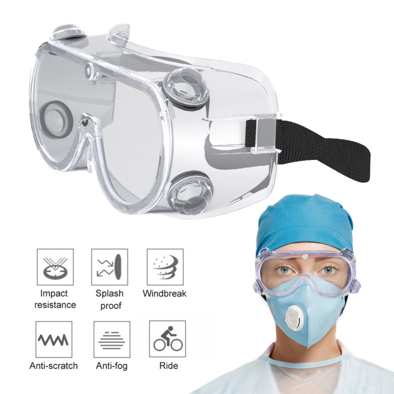 Anti Fog Dust Clear Safety Goggles Eye Protection Outdoor Protective Glasses Anti-splash Fully Sealed Glasses