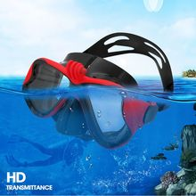 Adult Practical Snorkeling Mask Adjustable Anti-fog Waterproof Diving Women Men High Quality Silicone Skuba Goggles