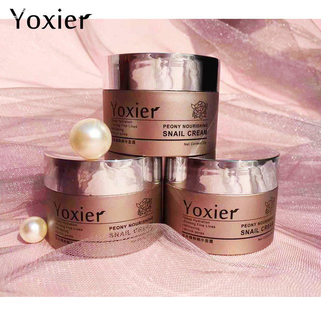 Day Creams Moisturizers Korean Cosmetics Secret Skin Care Snail Cream Hyaluronic Acid Essence Cream For Face Anti Aging Wrinkle 5