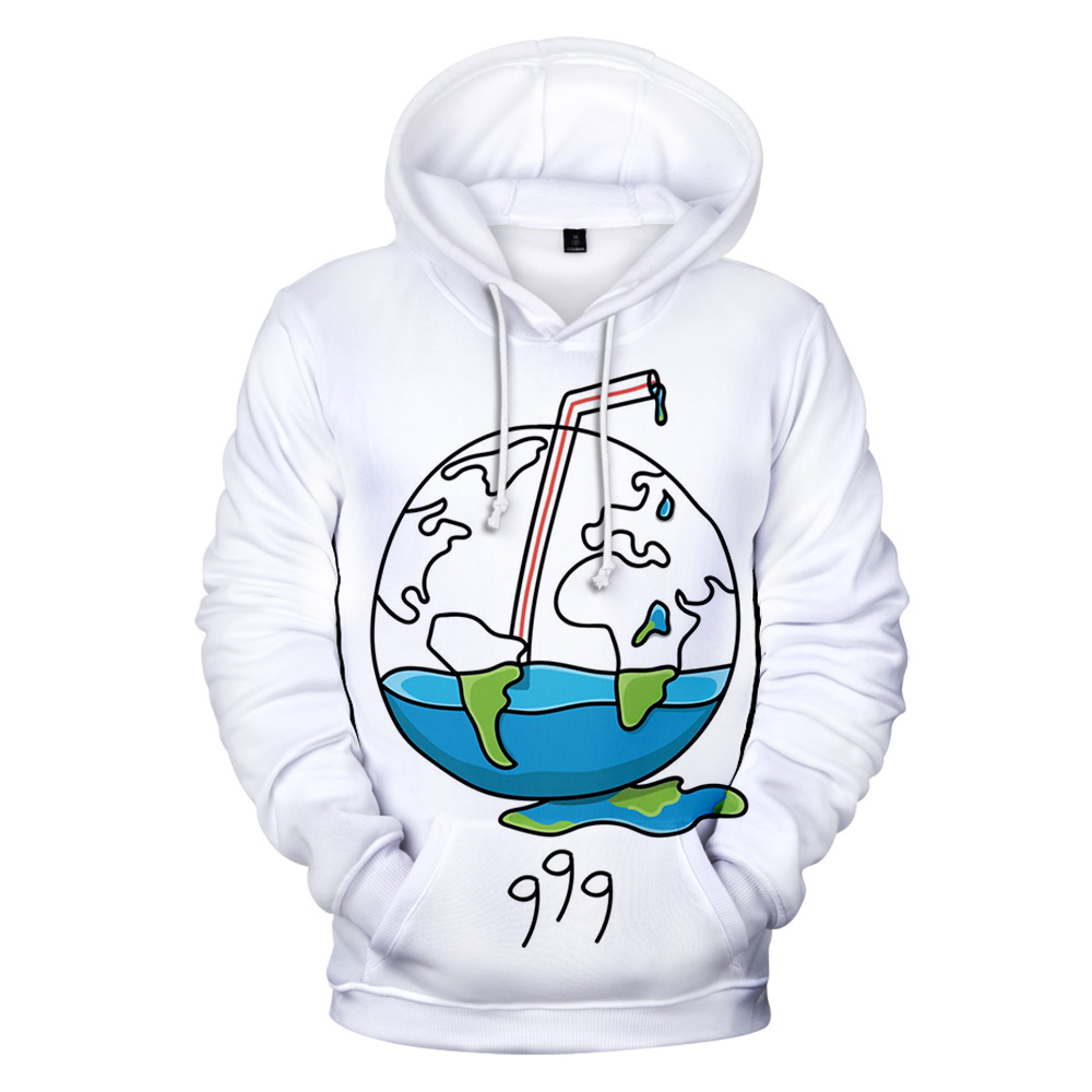 New Classic Juice Wrld 3D Hoodies Men Women Pullover Sweatshirt With Hat Streetwear Juice Wrld Polyester fiber Clothes 2019 Tops image