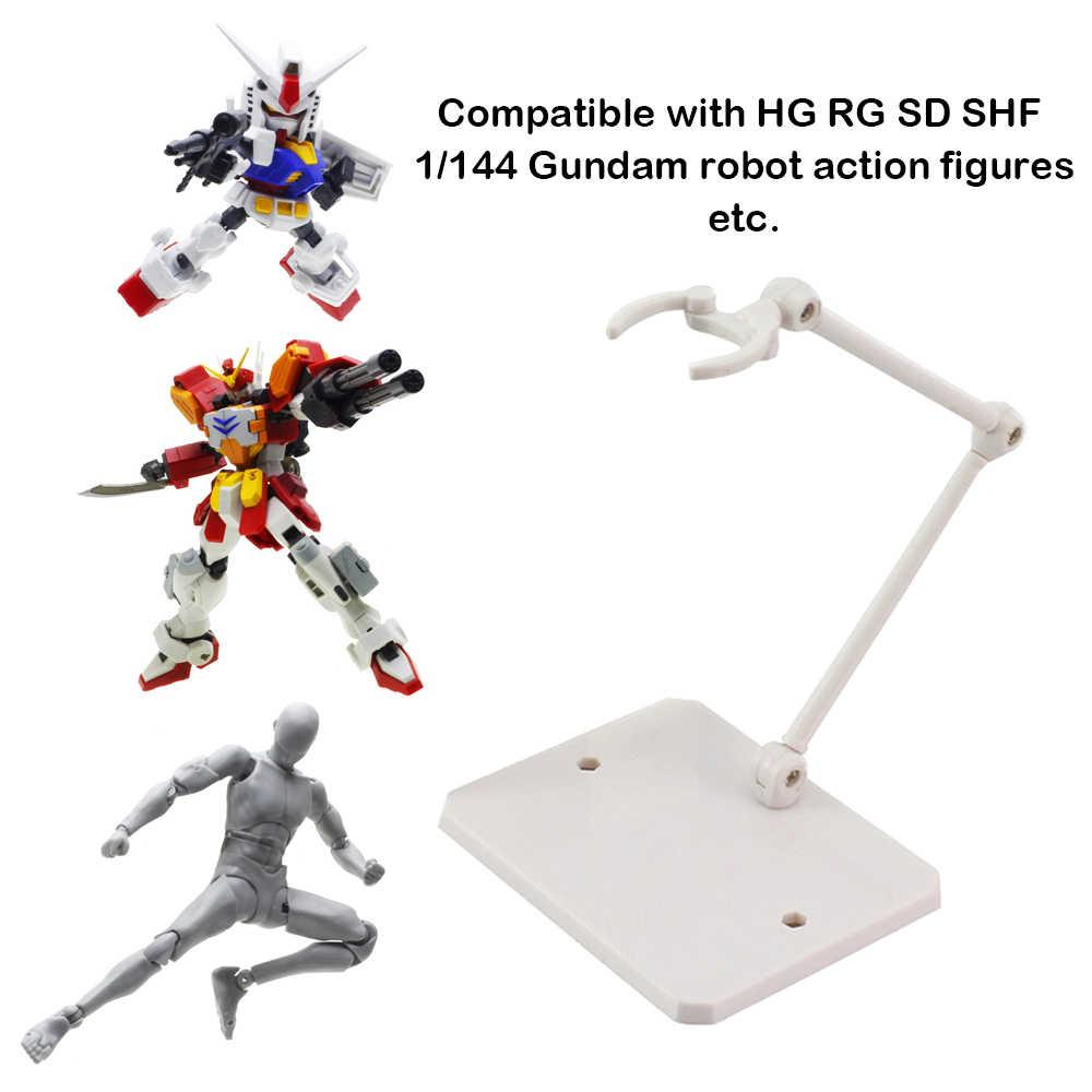 Support de Support de modèle de poupée de Support d'affichage de Figure d'action d'assemblée pour le jouet de HG RG SD SHF Gundam 1 \ \/144