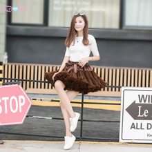 Dancers Skirts Brown Girls Princess Mattresses-Ballet Gauze Parties And Pengpeng New