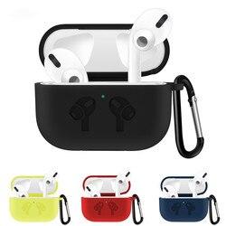 Dla apple airpods Pro air pods Pro pokrywa Funda bezprzewodowa torba na słuchawki pokrowiec na air pods Pro słuchawki douszne przypadku 1