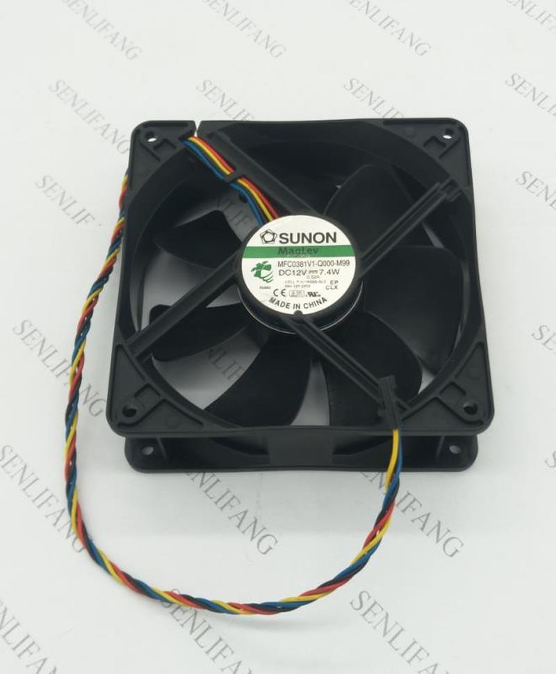 For Original MFC0381V1-Q000-M99 12038 12V 7.4W Silent Desktop Fan