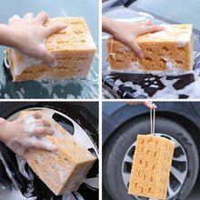 Block-Cleaner Vehicle-Accessories Honeycomb-Sponge Car-Washing-Sponge Polyester Auto-Body-Cleaning