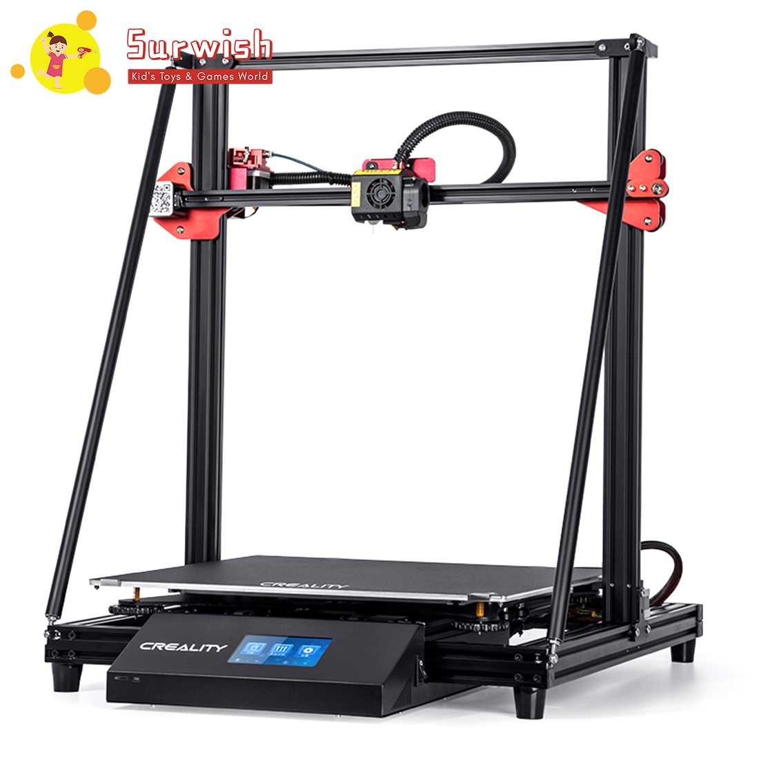 Creality3D CR-10 MAX 3D Printer With Printing Size Of 450x450x470mm - AUS Plug/UK Plug/ EU Plug/US Plug