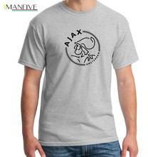 New Fashion ajax t-shirts Grappige mannen T-shirts Korte T Shirts Luxe Zomer Katoen Plus Size Hip Pop Tops