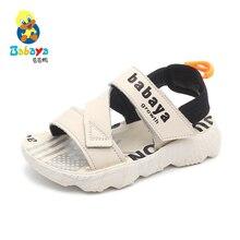 Babaya Brand Children Sandals Baby Shoes Soft Bottom Boys Sports Beach Shoes Non-slip Big Kids 2020 Summer New