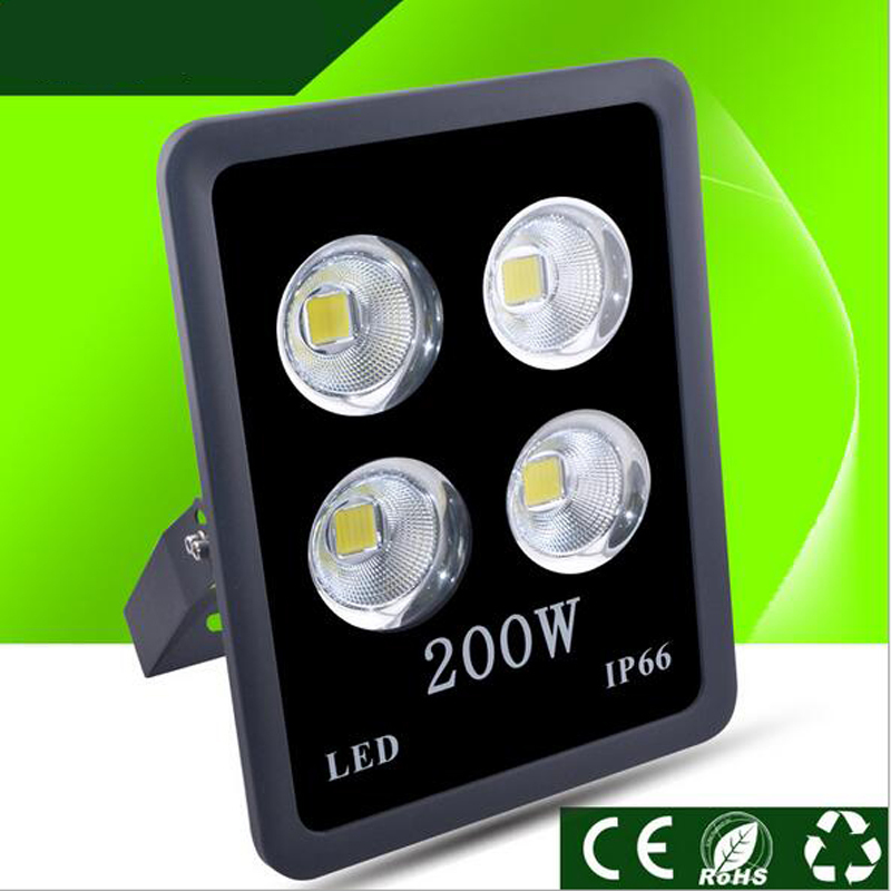 Işıklar ve Aydınlatma'ten Işıldaklar'de Fanlive COB projektör 200W 300W 400w 500w Işıldak Yeni AC110 240V Led Spot dış mekan aydınlatma ledi Sokak Projektörler title=
