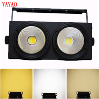 YaYao Cob 2 Eyes 200W Par Stage Lights Fast Delivery LED Color Matching Party Voice Control KTV Disc Christmas