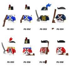 8 pçs/lote herói soldado da marinha imperial guerra bloco de construção tijolo compatível diy brinquedo para crianças presente