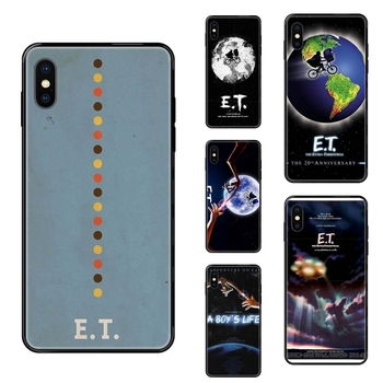 Colors Black Soft Top Detailed Popular Case A Boy Et The Extra Terrestrial For Apple iPhone 11 12 Pro 5 5S SE 5C 6 6S 7 8 X XR image