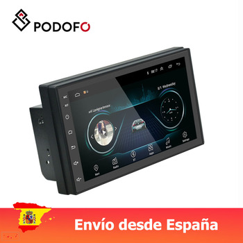 Podofo Android 8.1 Car Multimedia Player 2 din 7
