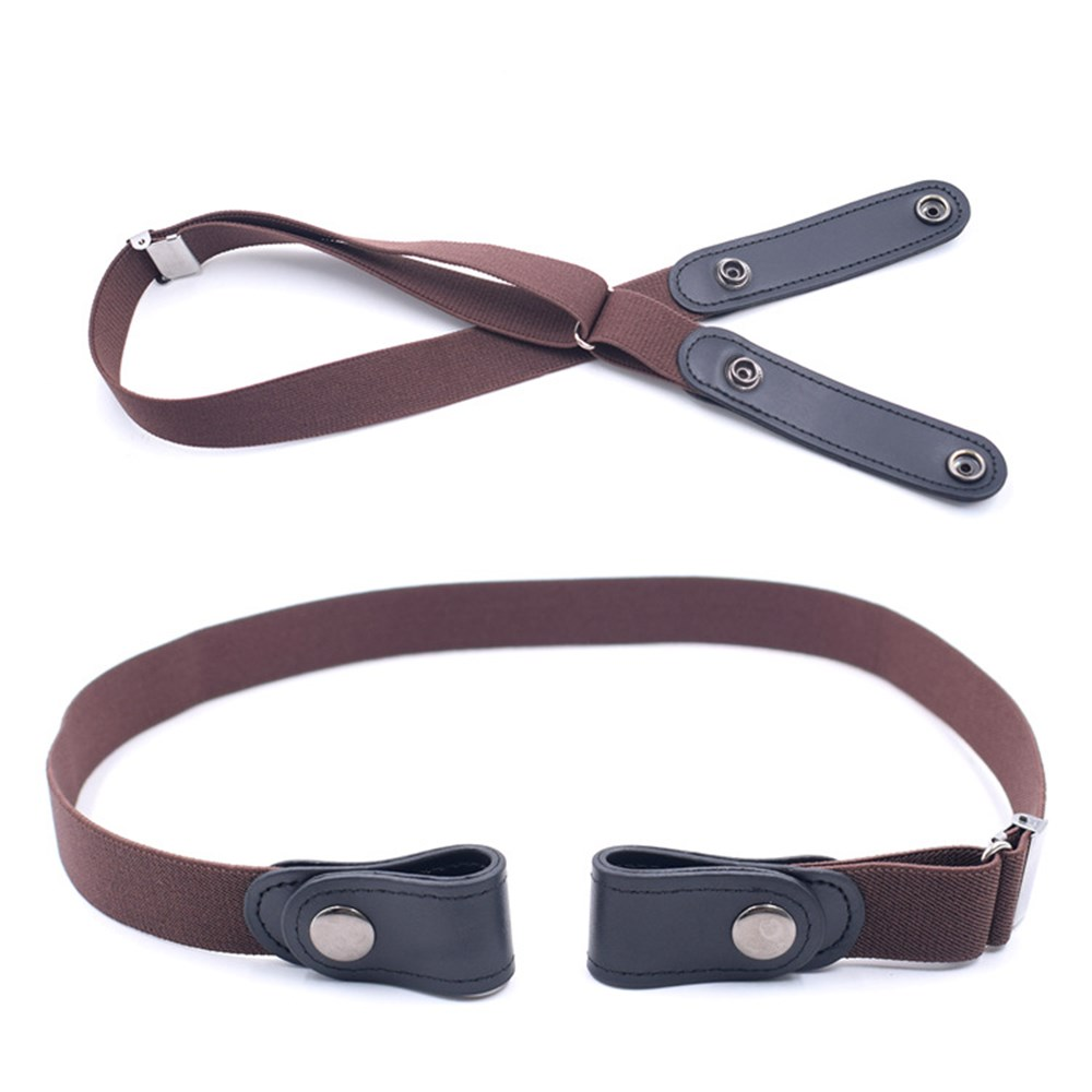 Easy Belt Without Buckle-free Men Elastic Waist Belts Ceinture Femme Stretch Jeans Hidden Invisible Secret for Women No Hassle