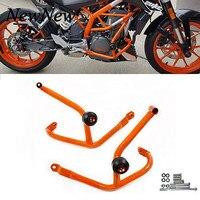 Motorcycle Crash Bar Frame Slider Engine Guard Bumper Stunt Cage Protection For KTM Duke 390 250 Duke390 Duke250 2013 2014 2016