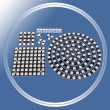 1Bit 3 4Bit 7Bit 8Bit 12Bit 16Bit 24Bit 32 64bits WS2812 5050 RVB LED Bague + Pilote Intégré Module Contrôleur pour Arduino BRICOLAGE