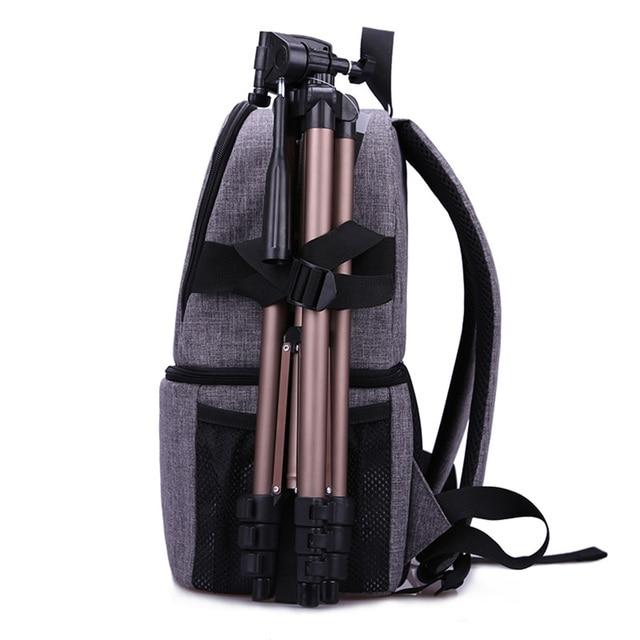Multi-purpose DSLR Camera Bag Waterproof Photo Camera Bag Shoulder Bag Small DLSR Camera Backpack For Nikon Canon Pentax Sony 4