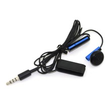 For PS4 Gaming Earphone Joystick Controller Earphone Replacement For Sony For PlayStation 4 With Mic With Earpiece Clip
