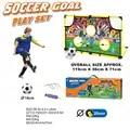 Portable Football porte enfants Football porte en plein air marqueur bloc tissu pliant Football but enfants Football jouet