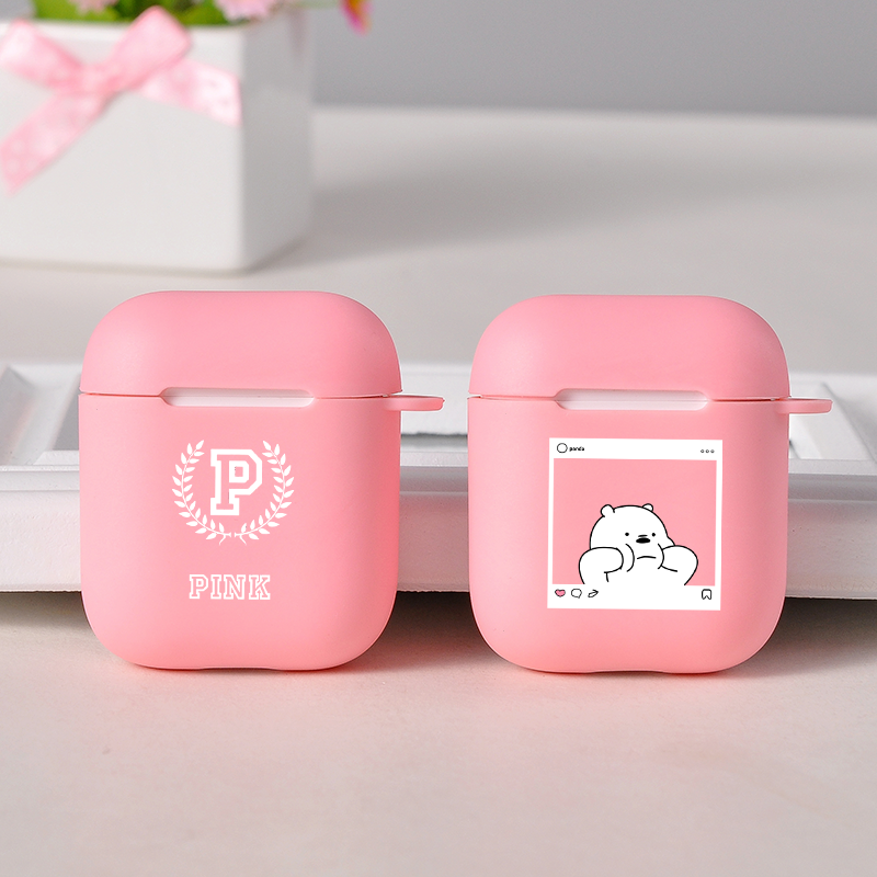 Bluetooth Wireless Earphone Case For AirPods Protective Cover NEW Victoria Hot Pink Hard PC Accessories For Airpods Charging Box