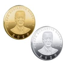 2021 New Joe Biden 대통령 기념 기념품 동전 도전 Collectible Art Coins