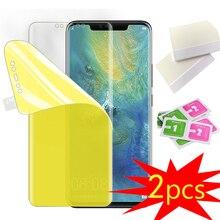 2PCS TPU Hydrogel Film For LG G5 G6 G7 G8 V20 V30 V40 V50 V50S K40S K50S VELVET Film Soft Full Coverage Explosion proof Film