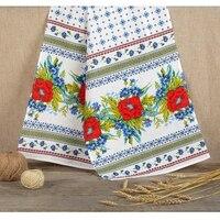 Linen towel Poppies, 150 x 36 cm 2924952