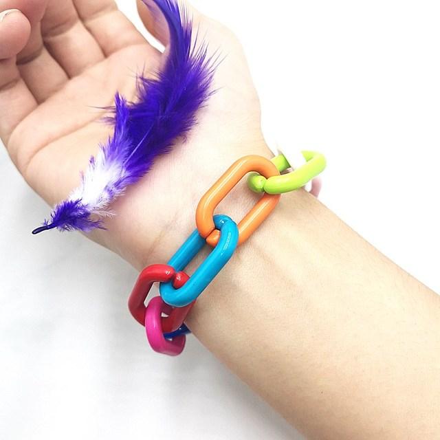 Купить милый цветной яркий прозрачный акриловый браслет ручной работы картинки цена