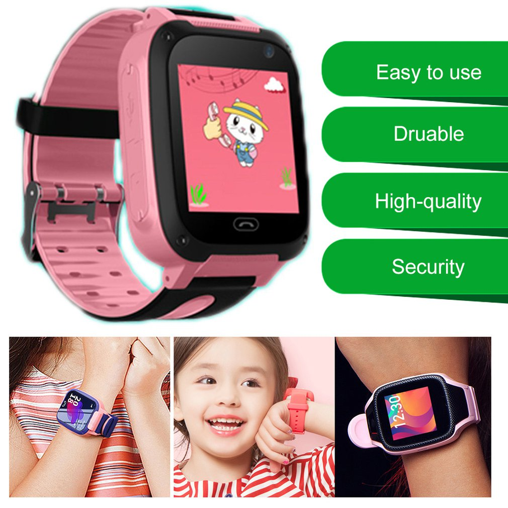 Smart Touch Screen Watch Wechat Step Counter Multi-Function Watch Anti-Lost Function Intelligent Alarm Clock