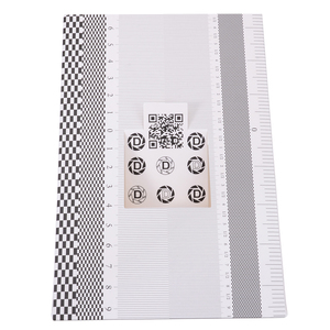 Image 5 - Professional Focus Calibration Ruler Folding Card Lens Calibration Alignment AF Micro Adjustment Ruler Chart 19x12.3cm Mayitr