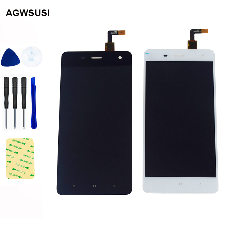 For Xiaomi Mi4 LCD Touch For Xiaomi 4 Mi 4 LCD Display Touch Screen Digitizer Sensor Panel Mi 4 LCD Screen Assembly
