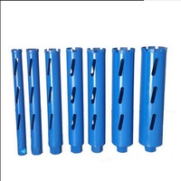 Free shipping dry drilling 32-83*370-450mm M22 connector diamond drill bits core bit for hole opening on masonry/concrete wall
