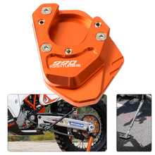 For KTM 990 Adventure S 2007 2008 Side Stand Pad Motor Center Stand Floor Pad Anti-skid Side Stand Enlarger Extension Pad Plate plate floor pad plate type flower type printing anti slip absorbent flannel home floor pad