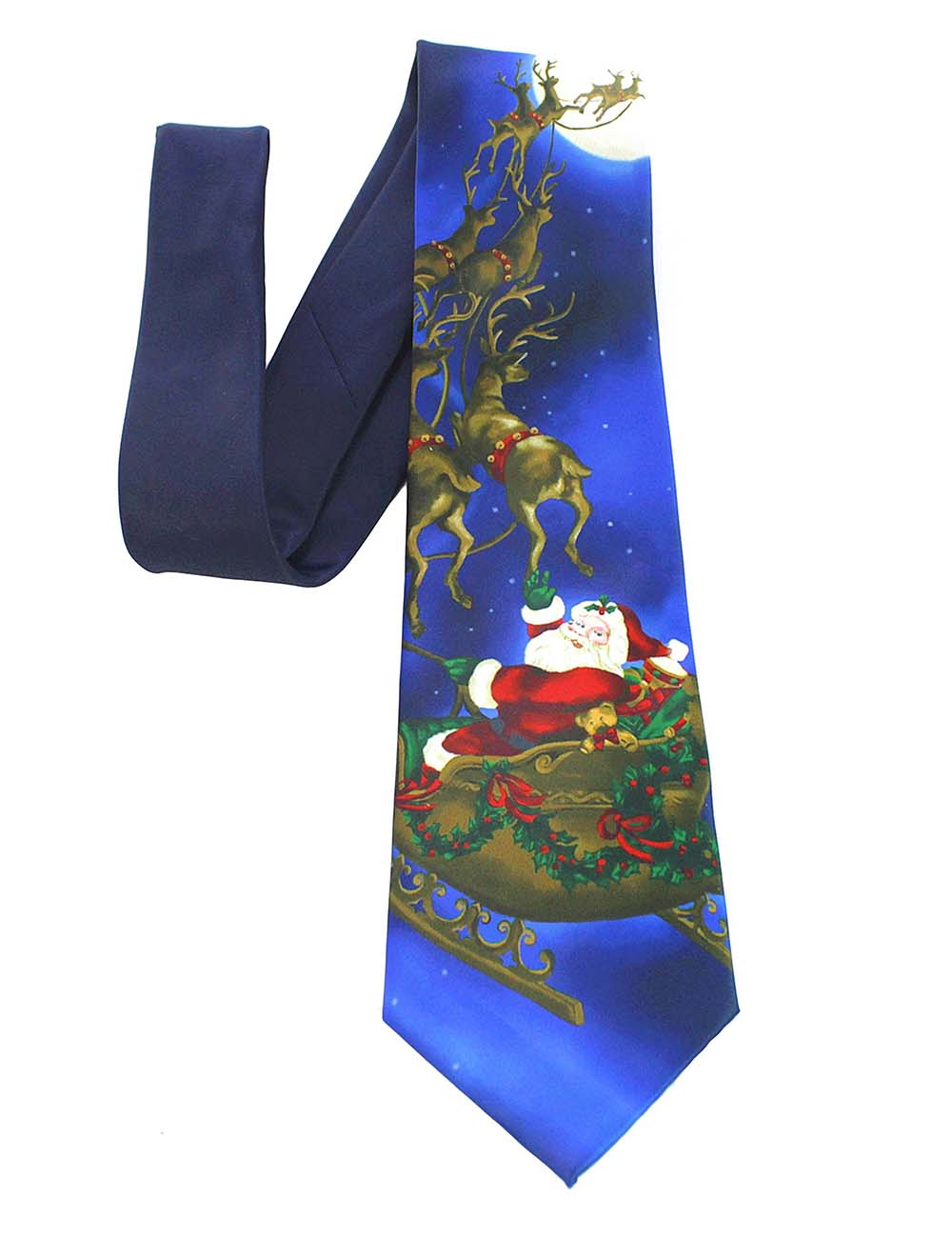 Ricnais Quality Christmas Tie For Men 9cm Designer Snowman Animal Tree Printed Novelty Mens Gift Festival Necktie For Christmas