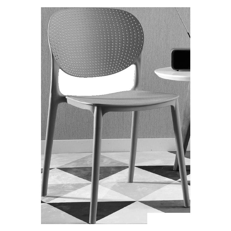 Plastic Chair Simple Modern Office Computer Chair Home Creative Chair Adult Fashion Padded Chair