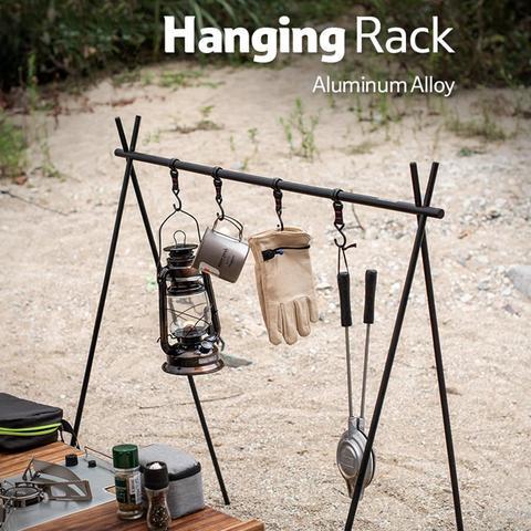 liga de aluminio pendurado rack de acampamento ao ar livre 8kg peso de rolamento triangular