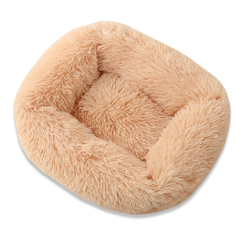 Super Soft Dog Bed House Dog Mat Plush Cat Mat Cats Nest For Large Dogs Bed Labradors House Round Cushion Pet Product Supplies 10