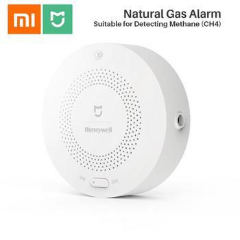Xiaomi Honeywell Detector de alarma de Gas Zigbee Control remoto CH4 monitoreo de techo y montado en la pared fácil de instalar aplicación Mijia