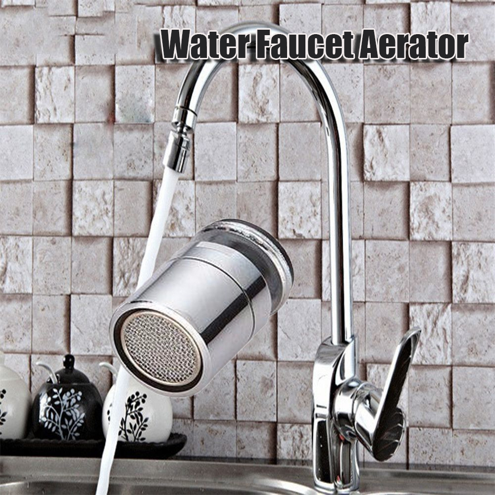 High Quality New Brass Water Saving Tap Faucet Aerator Sprayer Attachment With 360-Degree Faucet Accessories For Kitchen