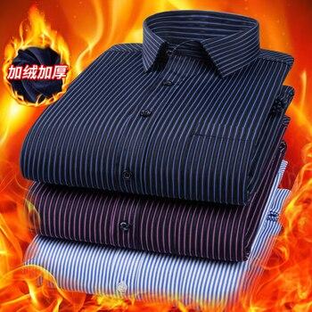 Camisa Alta Calidad Para Hombre ¡Gruesa Manga Larga y Camisa de Franela...