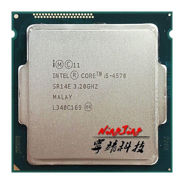 إنتل كور i5 4570 i5 4570 3.2 GHz رباعية النواة معالج وحدة المعالجة المركزية 6M 84 واط LGA 1150