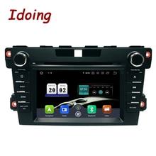Idoing 2Din הגה אנדרואיד 9.0 Fit מאזדה cx 7 CX 7 CX7 רכב נגן DVD 8Core 4G + 64G GPS ניווט IPS מסך WiFi OBD2
