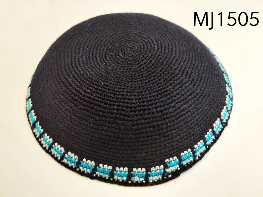 Handmade Kippah Knitted Hat Jewish Articles