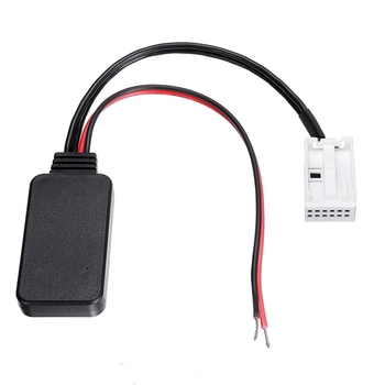 Car Wireless Bluetooth Module Music Adapter 12-Pin Auxiliary Receiver Aux o For Bmw 3 Series E90 E92 E93 E91