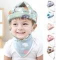 Последняя малыш новорожденный младенец для маленьких мальчиков и девочек защитный шлем, не замненная шляпа, удобные, мягкие, хлопковые, шля...