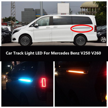 Car Turn Light LED For Mercedes Benz V250 V260 Track Light Atmosphere Light Door Light Guide Light image