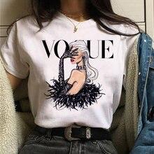 T-Shirt impression graphique princesse pour femme, esthétique et estival, mode années 90