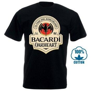 Men T Shirt New Fashion Bacardi Oarheart Classic Tops Funny T-Shirt Novelty Tshirt Women