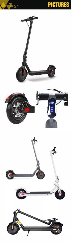 Electric Scooter Foldable Kick Scooter Adult Ebike Aluminum Alloy Folding Electric Easy To Carry 8.5Inch Folding Scooter