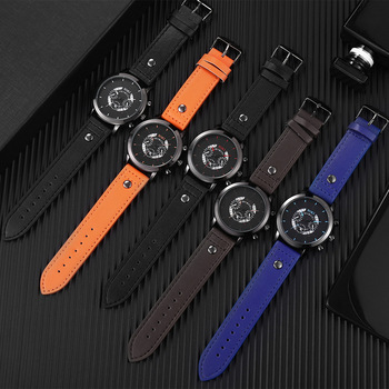 2020 Men's Watch Retro Couple Watches Male Female Student Sports Quartz WristWatch For Man Woman Clock Wrist Reloj Hombre Montre 2